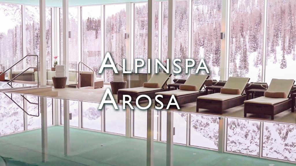 Imagefilm für das Alpinspa im Arosa Kulm Hotel