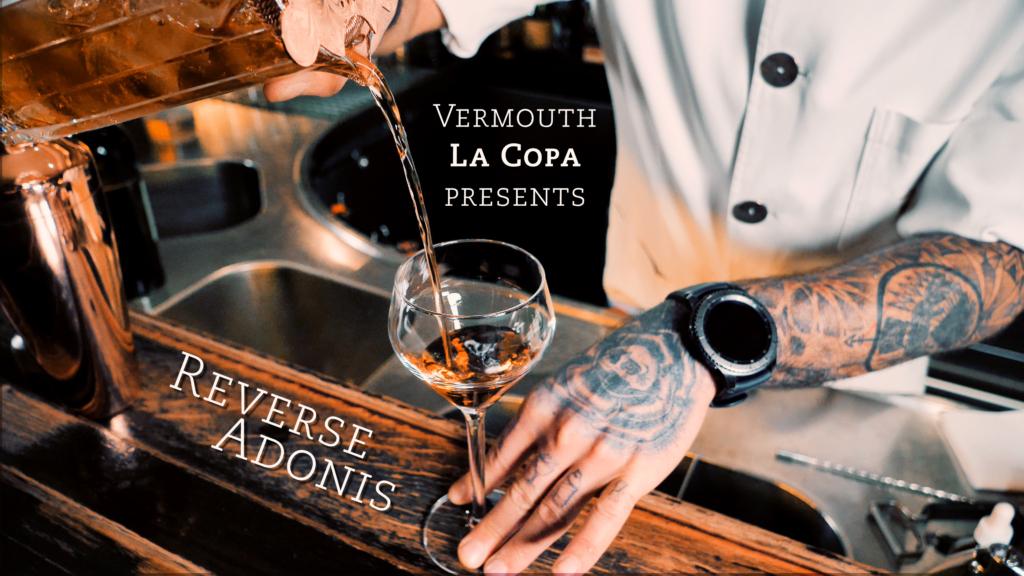 Reverse Adonis - Cocktail presentation